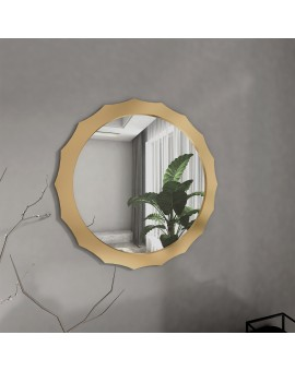 Camex Şık Gold Çerçeveli Ayna